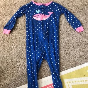Caters 18 month footed pajama
